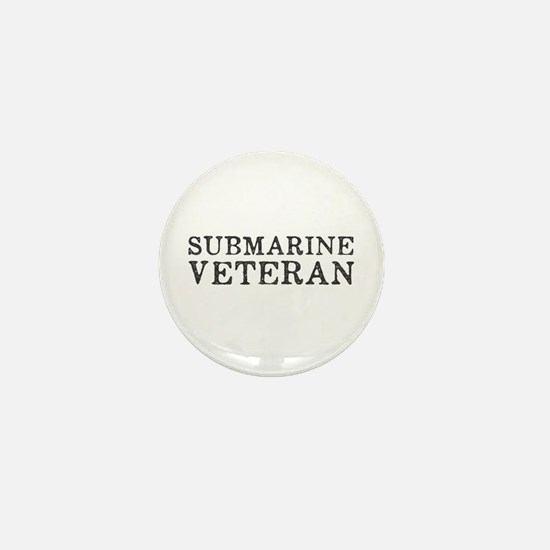 Submarine Veteran Mini Button