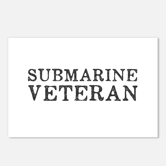 Submarine Veteran Postcards (Package of 8)