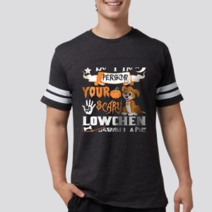 Be Person Scary Lowchen Thinks You Hallowe T-Shirt