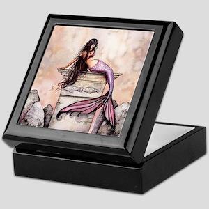 Sea Princess Mermaid Fantasy Art Keepsake Box