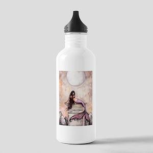 Sea Princess Mermaid Fantasy Art Water Bottle