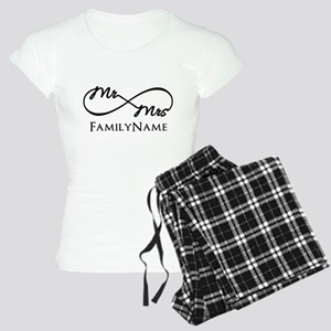 Custom Infinity Mr. and Mrs Women's Light Pajamas