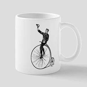 Vintage Gent On Bicycle Mug