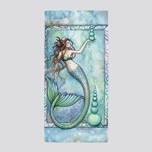Balance Mermaid Fantasy Art Beach Towel