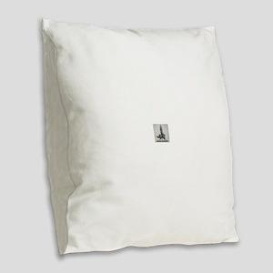 F PROHIBITION Burlap Throw Pillow