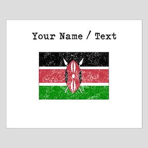 Custom Distressed Kenya Flag Posters