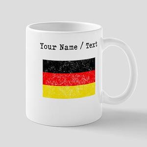 Custom Distressed Germany Flag Mugs