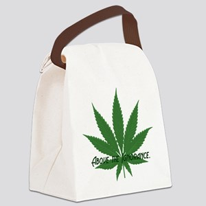 ABOVE THE IGNORANCE Canvas Lunch Bag
