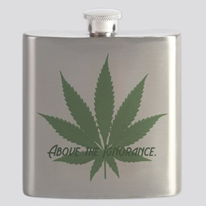 ABOVE THE IGNORANCE Flask
