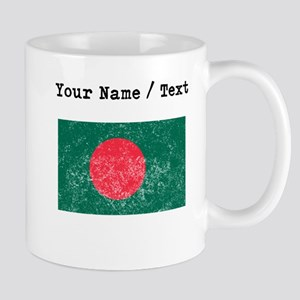 Custom Distressed Bangladesh Flag Mugs