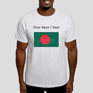 Custom Distressed Bangladesh Flag T-Shirt