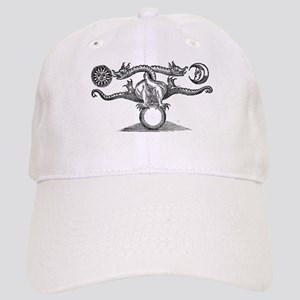 Entwined Hermetic Dragons Cap