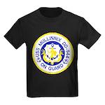 USS MULLINNIX Kids Dark T-Shirt