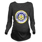 USS MULLINNIX Long Sleeve Maternity T-Shirt