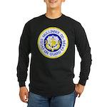 USS MULLINNIX Long Sleeve Dark T-Shirt