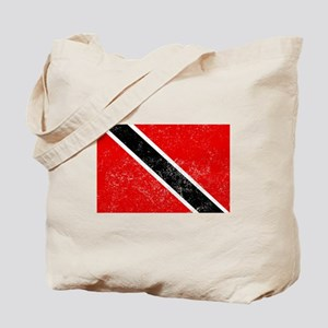 Distressed Trinidad and Tobago Flag Tote Bag