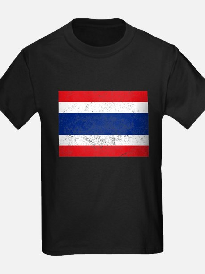 Distressed Thailand Flag T-Shirt