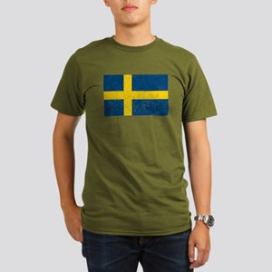 Distressed Sweden Flag T-Shirt