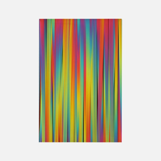 Funny Abstract Rectangle Magnet