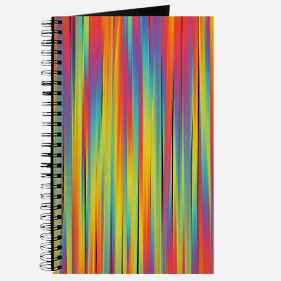 Cute Abstract lines Journal
