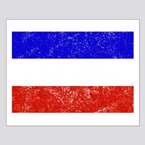Distressed Serbia and Montenegro Flag Posters