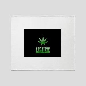 LEGALIZE Throw Blanket