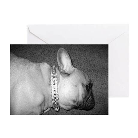 Leary Frenchie.. Greeting Cards (Pk of 10)
