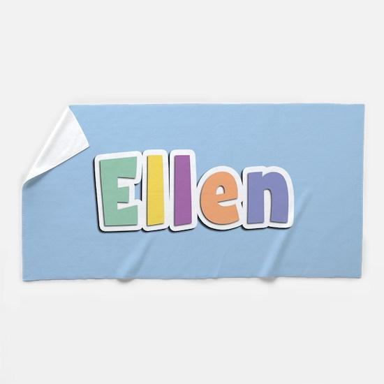 Ellen Spring14 Beach Towel