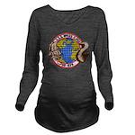 USS MYLES C. FOX Long Sleeve Maternity T-Shirt