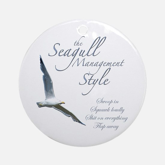 Seagull Style Ornament (Round)