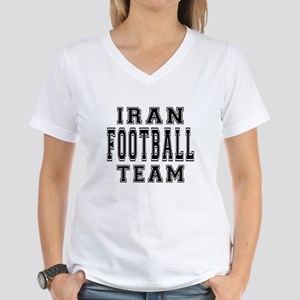 Iran Football Team Women's V-Neck T-Shirt