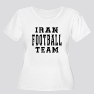 Iran Football Women's Plus Size Scoop Neck T-Shirt