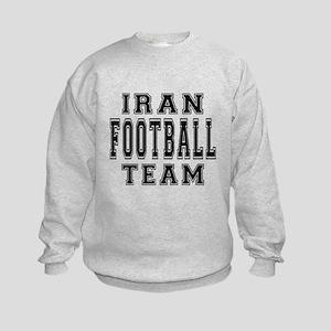 Iran Football Team Kids Sweatshirt