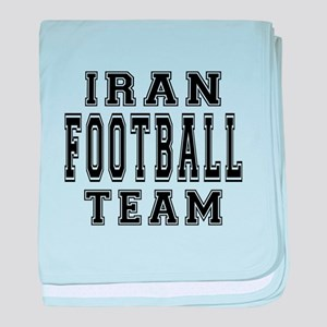 Iran Football Team baby blanket