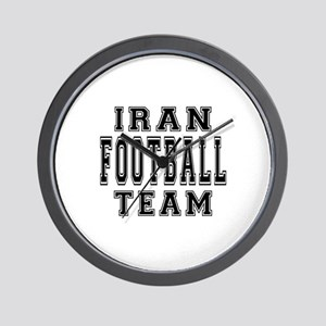 Iran Football Team Wall Clock