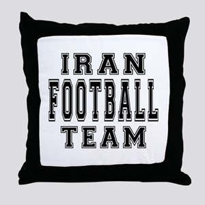 Iran Football Team Throw Pillow