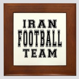 Iran Football Team Framed Tile