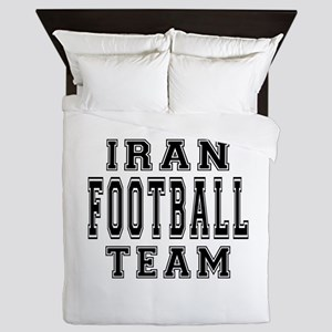 Iran Football Team Queen Duvet