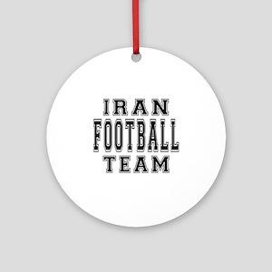 Iran Football Team Ornament (Round)