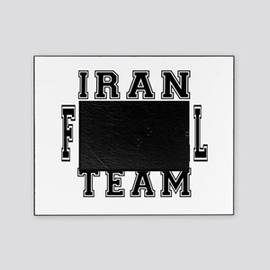 Iran Football Team Picture Frame