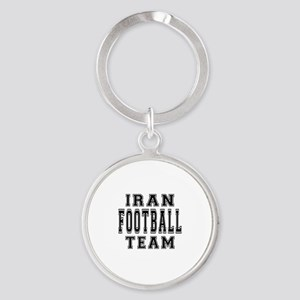 Iran Football Team Round Keychain