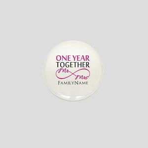 1st anniversary Mini Button