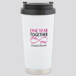 1st anniversary Stainless Steel Travel Mug