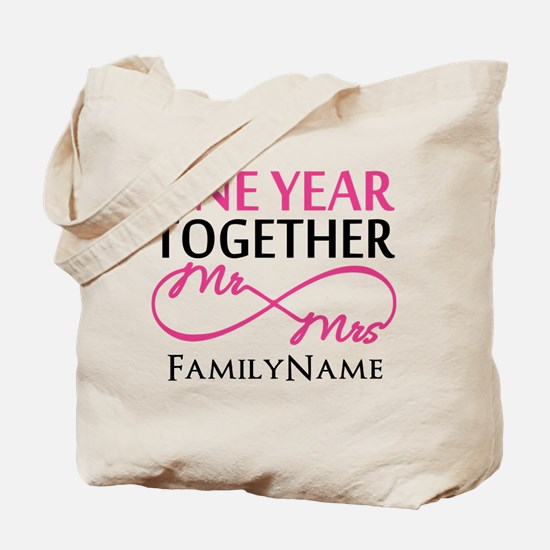 1st anniversary Tote Bag
