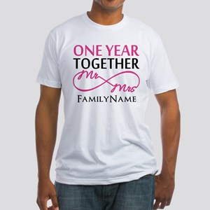 1st anniversary Fitted T-Shirt