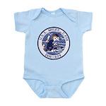 USS MYLES C. FOX Infant Bodysuit