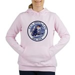 USS MYLES C. FOX Women's Hooded Sweatshirt