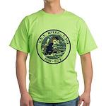 USS MYLES C. FOX Green T-Shirt