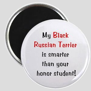My Black Russian Terrier is smarter... Magnet