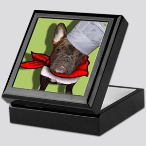 The Frenchie Chef Keepsake Box